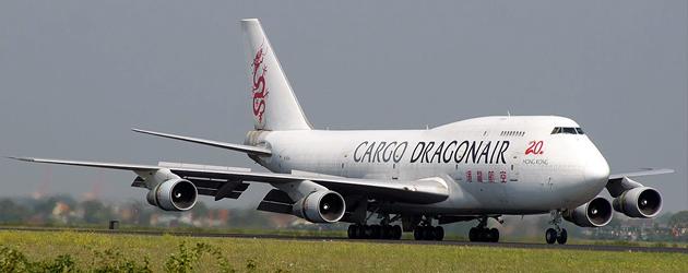hong kong dragonair cargo airlines boeing 747 cadet scheme
