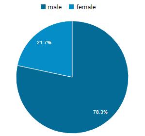 Visitor Genders