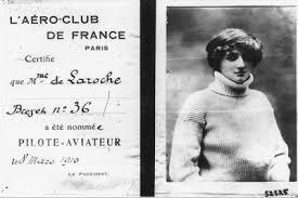 Raymonde de Laroche Licence