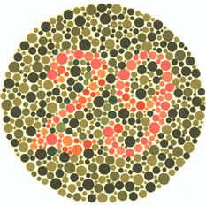 Ishihara's Test for Colour Deficiency