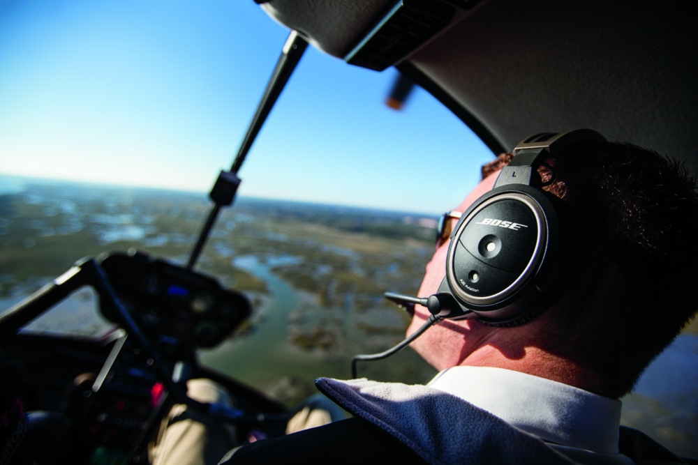 Bose A20 Helicopter